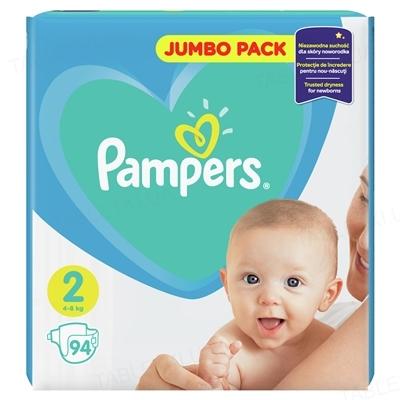 Підгузки дитячі Pampers New Baby розмір 2, 4-8 кг, 94 штуки