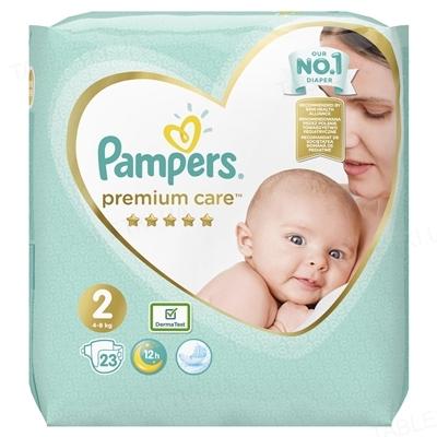 Підгузки дитячі Pampers Premium Care розмір 2, 4-8 кг, 23 штуки
