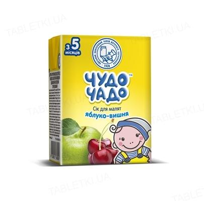 Сок фруктовый Чудо-Чадо яблочно-вишневый, 200 мл