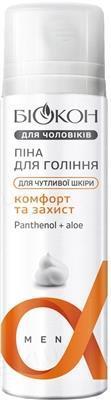 Пена для бритья Биокон Для мужчин для чувствительной кожи, 200 мл