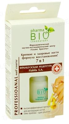 Гель-укрепитель для ногтей Pharma Bio Laboratory Крепкие и здоровые ногти 7в1, 12 мл