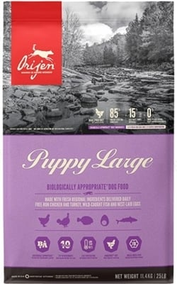 Корм сухой для щенков крупных пород Orijen Puppy Large Breed, 11,4 кг