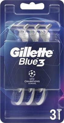 Бритвы Gillette Blue3 Comfort одноразовые, 3 штуки