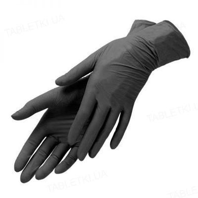 Перчатки смотровые MediOk нитриловые без пудры нестерильные, размер L, пара