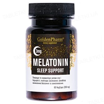 Мелатонин Golden Farm капсулы по 3 мг №60