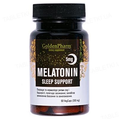 Мелатонин Golden Farm капсулы по 5 мг №60