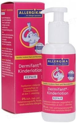 Лосьон для тела Allergika Dermifant детский восстанавливающий, 200 мл