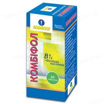 Комбіфол таблетки №60 у флак. пласт.