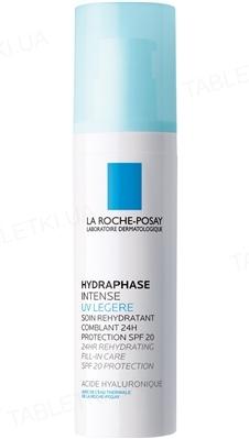 Крем La Roche-Posay Hydreane Legere інтенсивний, зволожуючий, для нормальної та комбінованої шкіри,  SPF 20, 50 мл