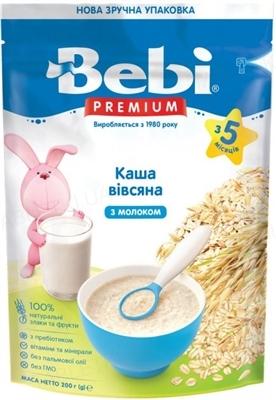 Суха молочна каша Bebi Premium Вівсяна, 250 г