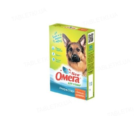 Омега Нео витамины для собак с морскими водорослями, 90 таблеток