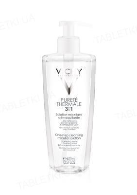 Міцелярна  рідина Vichy Purete Thermale для демакіяжу обличчя та очей, 400 мл