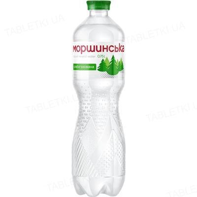 Вода минеральная Моршинская слабогазированная, 0,75 л