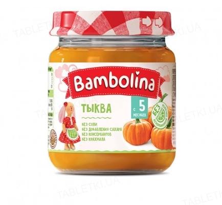 Овощное пюре Bambolina Тыква, 100 г