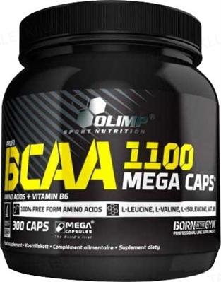 Аминокислота Olimp BCAA Mega, 300 капсул