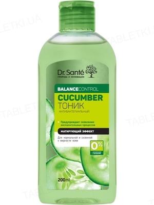 Тоник Dr.Sante Cucumber Balance Control антибактериальный, 200 мл