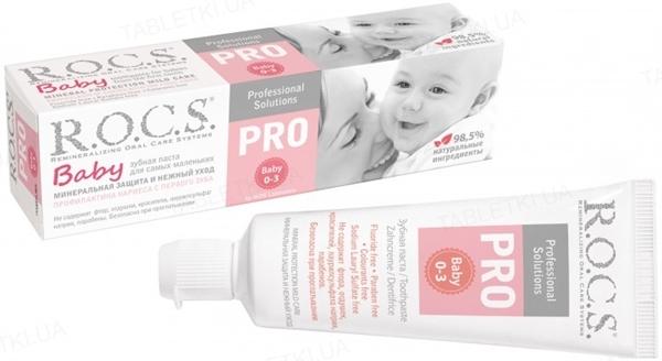 Зубная паста R.O.C.S. Pro Baby Минеральная защита и нежный уход, 45 г