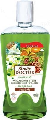 Ополаскиватель для полости рта Family Doctor Кора дуба, 360 мл