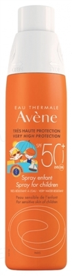 Спрей Avene Солнцезащитный для детей SPF50 +, 200 мл