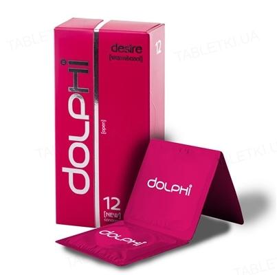 Презервативы Dolphi Lux Desire двойное действие для него и для нее, 12 штук