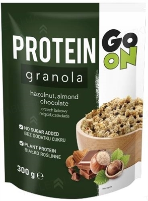 Гранола GO ON Nutrition Protein Granola with Chocolate and Nuts, 300 г