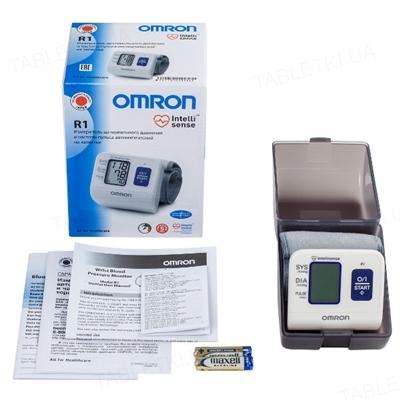 Тонометр Omron R1 (HEM 6114-RU) автоматический на запястье