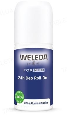 Дезодорант для мужчин Weleda Roll-On 24 часа, 50 мл
