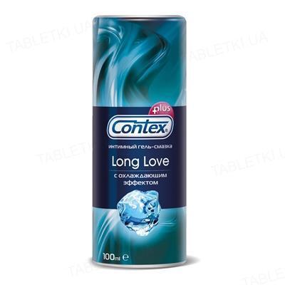 Гель-смазка интимная Contex Long Love с охлаждающим эффектом, 100 мл