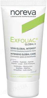 Средство для лица Noreva Exfoliac Global 6 для проблемной кожи, 30 мл