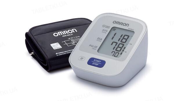 Тонометр Omron M2 Basic HEM-7121-ALRU автоматический с сетевым адаптером, увеличенная манжета