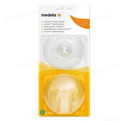 Накладки для кормления Medela Contact Nipple Shield размер L, 2 штуки