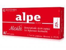 Тест-полоска Alpe in-vitro Maybe для определения беременности повышенной чувствительности, 10 штук