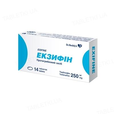 Ламидерм таблетки по 250 мг №14 (7х2)