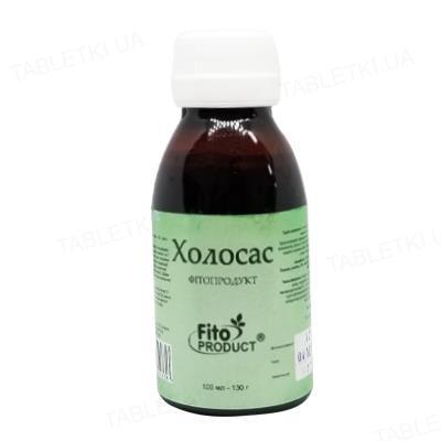 Холосас Фитопродукт сироп по 100 мл (130 г) во флак.