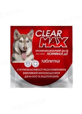 КліарМакс 1 г антигельмінтний засіб для собак, 1 таблетка