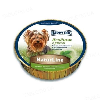 Корм влажный для собак Happy Dog Schale NaturLine LammReis паштет с ягненком и рисом, 85 г
