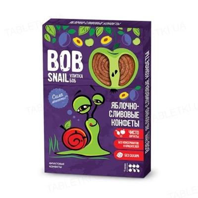 Конфеты Bob Snail натуральные яблочно-сливовые, 60 г