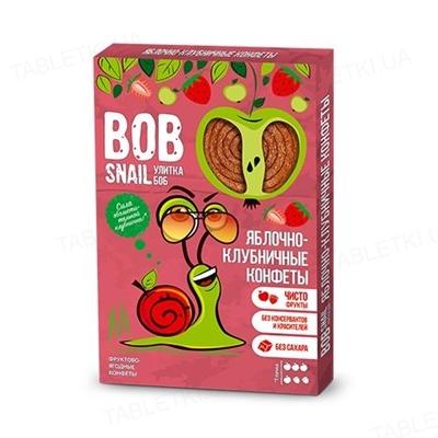 Конфеты Bob Snail натуральные яблочно-клубничные, 60 г