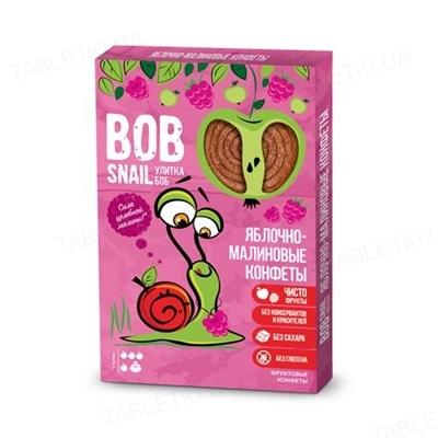 Конфеты Bob Snail натуральные яблочно-малиновые, 60 г