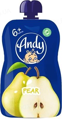 Пюре фруктовое Andy Pouch Груша, 90 г