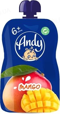 Пюре фруктовое Andy Pouch Манго, 90 г