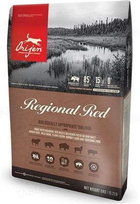 Корм сухой для собак Orijen Regional Red Dog, 6 кг