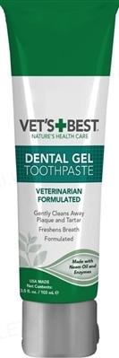 Гель для чищення зубів Vet's Best Dental Care Kit для кішок, 103 мл