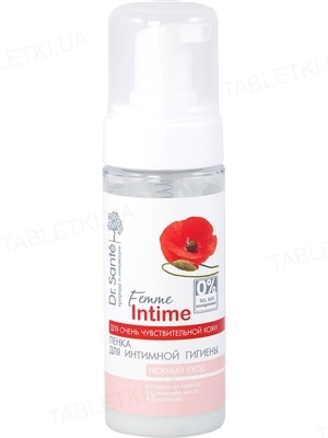 Пінка для інтимної гігієни Dr.Sante Femme Intime Ніжний догляд, 150 мл