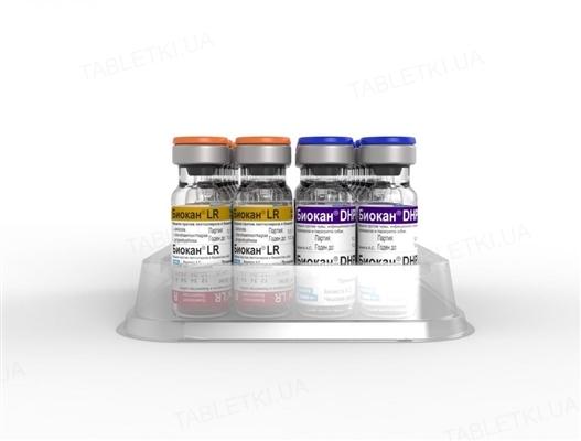 Біокан DHPPi + LR вакцина для собак по 1 дозі у флак.