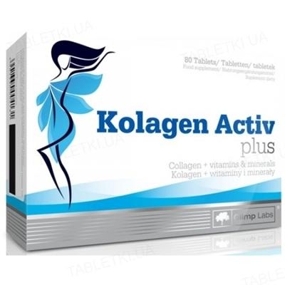Аминокислота Olimp Kolagen Activ Plus, 80 таблеток