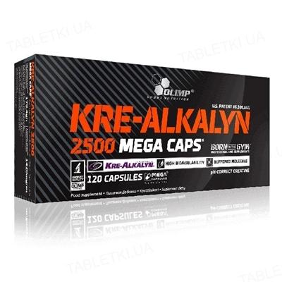 Креатин Olimp Kre-Alkalyn 2500 Mega Caps, 120 капсул