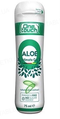 Гель-смазка One Touch Light Aloe Vera интимная, 75 мл