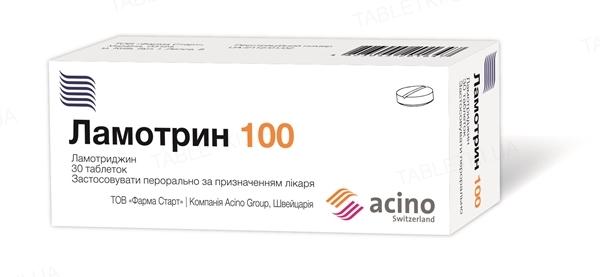 Ламотрин 100 таблетки по 100 мг №30 (10х3)