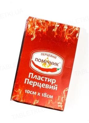 Пластырь перцовый Калина Перцовый Помощник, 10 см x 18 см, 1 штука